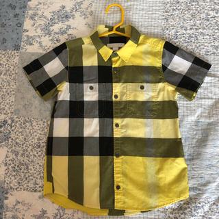 BURBERRY - 美品 バーバリー 半袖シャツ 6Y 116cm