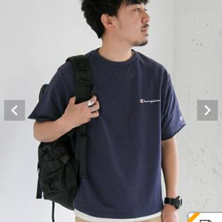 サニーレーベル(Sonny Label)の新品タグ付き 別注ラウンドテール刺繍スウェットシャツ(Tシャツ/カットソー(半袖/袖なし))