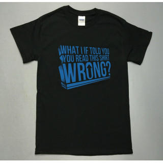 wrong ロゴ 半袖Tシャツ utn241(Tシャツ/カットソー(半袖/袖なし))