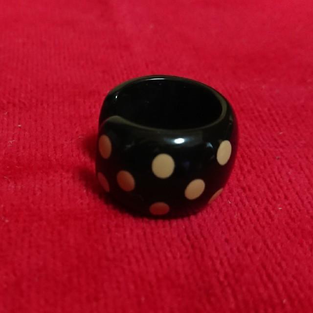 CHANEL(シャネル)のシャネル  CHANEL  リング  指輪  ドット  プラスチック レディースのアクセサリー(リング(指輪))の商品写真