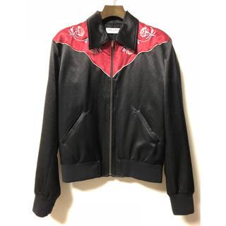サンローラン(Saint Laurent)の美品 サンローランパリ エディ期 テディ 刺繍 ジャケット S セリーヌ(ブルゾン)