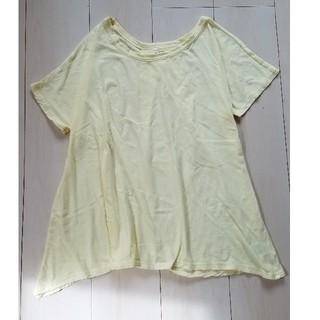 ゆったり Tシャツ カットソー(Tシャツ(半袖/袖なし))