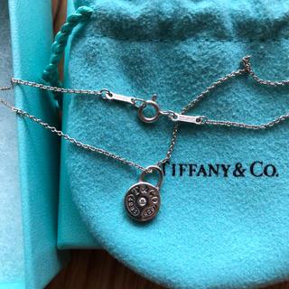 Tiffany & Co. - Tiffany ラウンドロック ダイヤネックレス