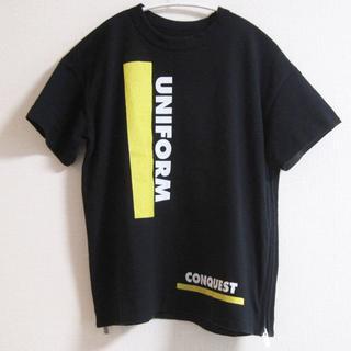 サカイ(sacai)のsacaiサカイ Tシャツ サイズ1 ブラック(Tシャツ(半袖/袖なし))