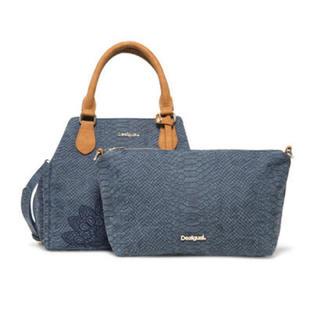 DESIGUAL - 新品 定価13,900円 デシグアル バッグインバッグ付き♪ ショルダーバッグ