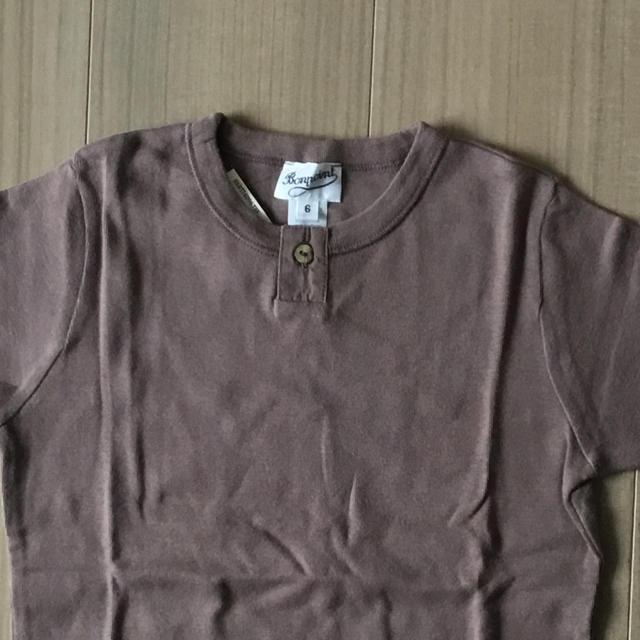Bonpoint(ボンポワン)のボンポワン Bonpoint 6A ボタンTシャツ *新品* キッズ/ベビー/マタニティのキッズ服 男の子用(90cm~)(Tシャツ/カットソー)の商品写真