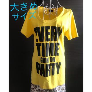 イエロー ロゴ★ロングTシャツ(Tシャツ(半袖/袖なし))