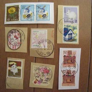 未使用★82円切手x100枚/1シート(切手/官製はがき)