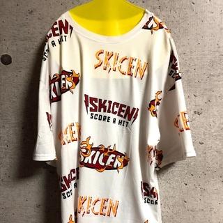 【人気商品♥残りわずか】新商品 炎散りばめTシャツ 半袖 オルチャン(Tシャツ/カットソー(半袖/袖なし))