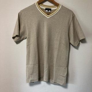 コムデギャルソンオムプリュス(COMME des GARCONS HOMME PLUS)のコムデギャルソンオムプリュス AD2006 金糸VネックTシャツ 正規品 メンズ(Tシャツ/カットソー(半袖/袖なし))