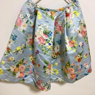 Chesty - チェスティ chesty スカート 花柄 バード ボタニカル