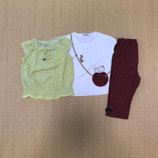 familiar - ファミリア シャツ パンツ