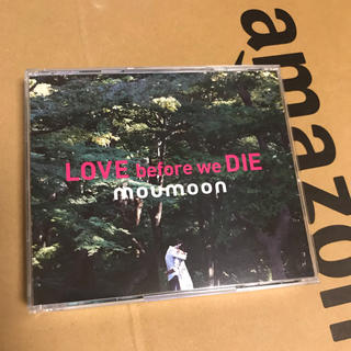 moumoon LOVE before we DIE CD+DVD(ポップス/ロック(邦楽))