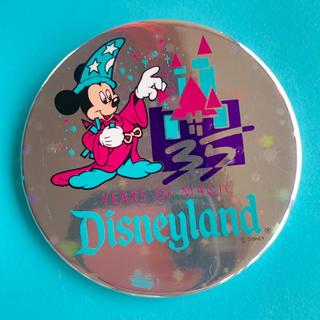 Disney - ディズニーランド 35周年記念 ミッキー 缶バッジ