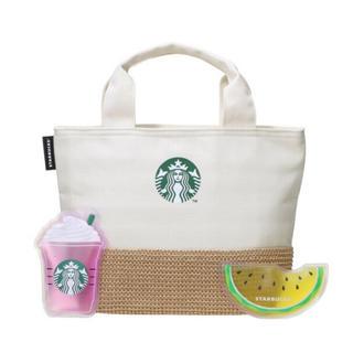 Starbucks Coffee - スターバックス 保冷トートバッグ&オリジナル保冷剤 新品