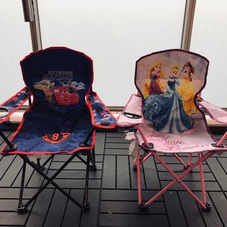 ディズニー(Disney)の子ども用椅子2つセット(その他)