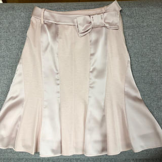 トゥービーシック(TO BE CHIC)のTO BE CHIC  ピンクスカート(ひざ丈スカート)