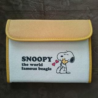 スヌーピー(SNOOPY)のスヌーピー 母子手帳ケース ジャバラ式 マルチケース 新品(母子手帳ケース)