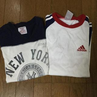 140cm 半袖Tシャツ 2枚組 中古