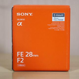 SONY - SONY 単焦点レンズ SEL28F20 新品未開封品