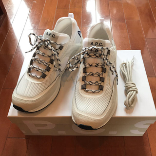 アーペーセー(A.P.C)の【新品未使用】APC ALEXANDER sneaker スニーカー 43(スニーカー)