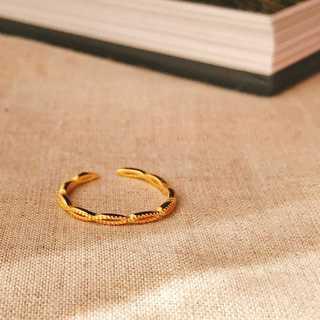 ゴールドリング デザイン 18K S925   *ARN020-GD00(リング(指輪))
