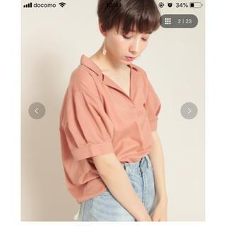 PAGEBOY - キュームコアスキッパーシャツ