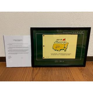 NIKE - コレクション放出 タイガーウッズ自筆サイン証明書付き マスターズ復活優勝記念グッ