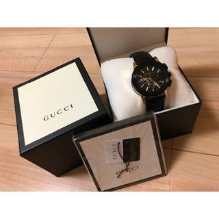 Gucci - GUCCI クロノグラフ メンズ腕時計