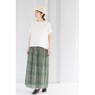 ミナペルホネン(mina perhonen)のミナペルホネン・rain grass スカート(ロングスカート)