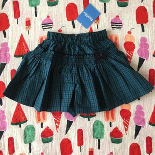 familiar - ファミリアチェックキュロットスカート♡*゜