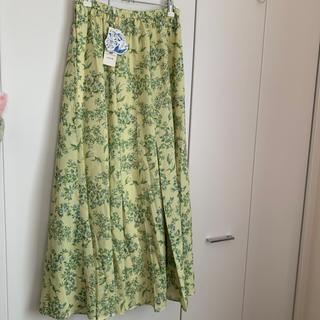 LOWRYS FARM - 花柄ロングスカート タグ付き