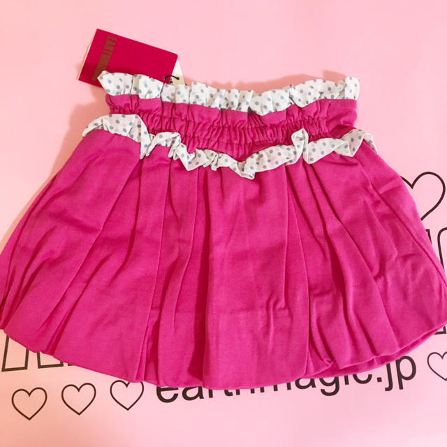 EARTHMAGIC(アースマジック)のアースマジック100♡スカート キッズ/ベビー/マタニティのキッズ服 女の子用(90cm~)(スカート)の商品写真