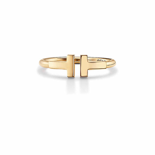 ティファニー(Tiffany & Co.)のティファニー T ワイヤーリング ゴールド(リング(指輪))