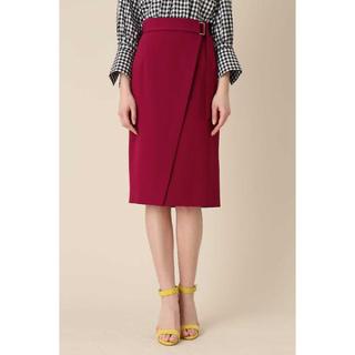 ピンキーアンドダイアン(Pinky&Dianne)のタグ付き未使用 ピンキーアンドダイアン ダブルサテンスカート(ひざ丈スカート)