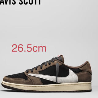 NIKE - NIKE AIR JORDAN 1 LOW TRAVIS SCOTT