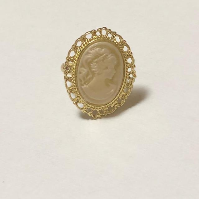 Kastane(カスタネ)のlattice  カメオリング☺︎ レディースのアクセサリー(リング(指輪))の商品写真