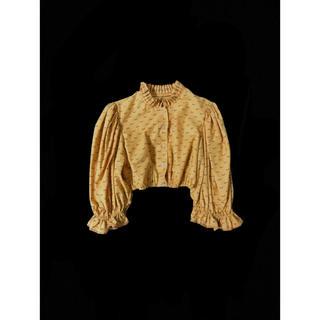 EDIT.FOR LULU - DEPT – Flower print tyrol blouse