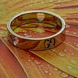 グッチ(Gucci)のGUCCI  アイコンアモールリング  (リング(指輪))