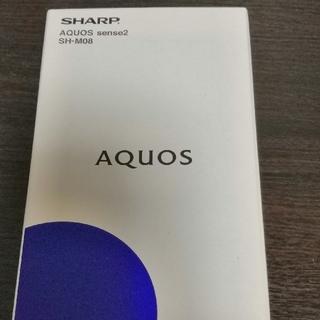 SHARP - AQUOS SENSE2 SH-M08 ブラック 新品未開封