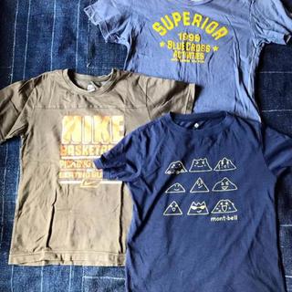 mont bell - 男の子用Tシャツ 3枚セット