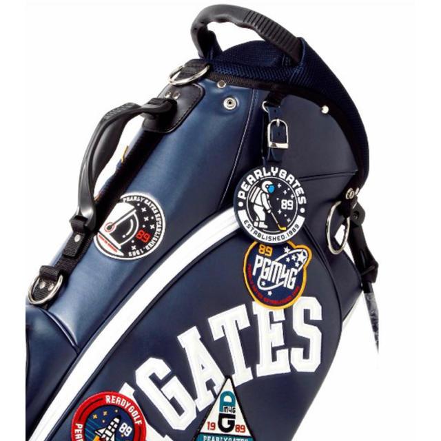 PEARLY GATES(パーリーゲイツ)のパーリーゲイツ キャディバッグ 限定 SPACE CADY BAG 新品 ⛳️ スポーツ/アウトドアのゴルフ(バッグ)の商品写真