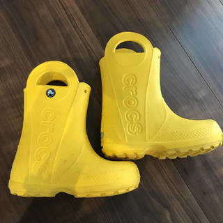 クロックス(crocs)のクロックス 長靴 レインブーツ C11 18cm(長靴/レインシューズ)
