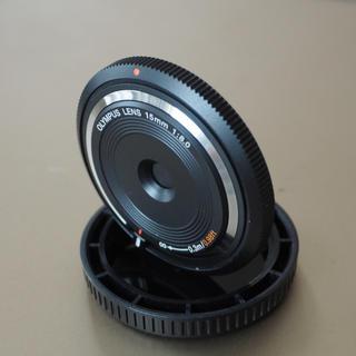 OLYMPUS - OLYMPUS 15mm f8 フィッシュアイボディキャップレンズ
