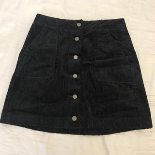 GU - コーデュロイ 台形スカート
