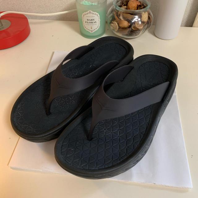 BEAMS(ビームス)の*k's market様 専用*  Hoka one one  サンダル メンズの靴/シューズ(サンダル)の商品写真