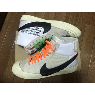 OFF-WHITE - Nike Off White The Ten Blazer 28.5