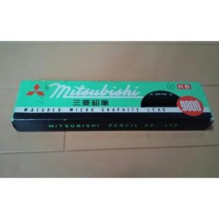 ミツビシエンピツ(三菱鉛筆)のアンティーク三菱鉛筆10本(鉛筆)