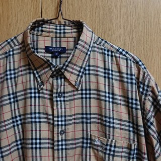BURBERRY - BURBERRY半袖ノバチェックシャツ