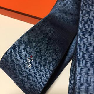 Hermes - エルメス HERMES ねくたい ネクタイ 正規品 中古 美品